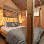 Luxury Glamping Tent Bedroom